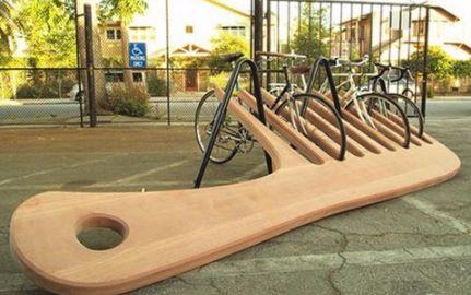 Гребен или паркинг за колела?