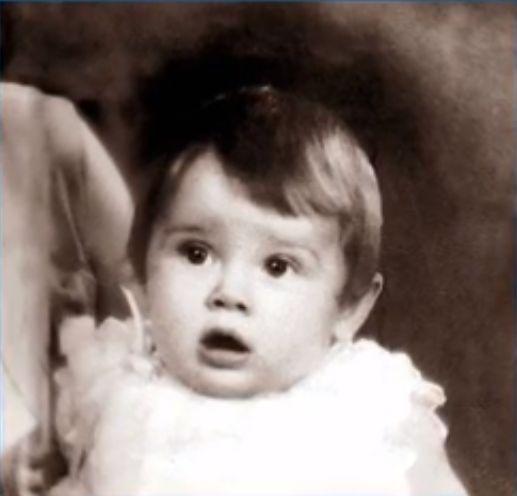 Одри Хепбърн през 1929г.