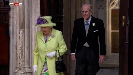 Кралицата и принцът