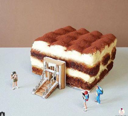 Десерт или произведение на изкуството
