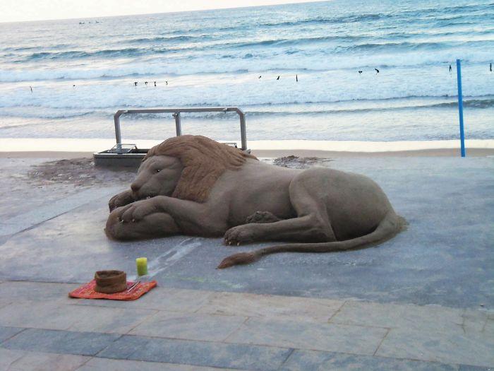 Изкуство от пясък