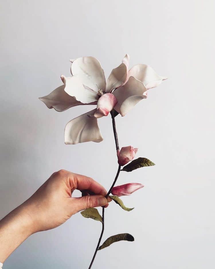 Захарни цветя