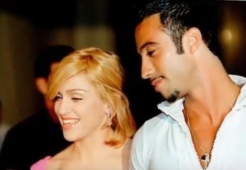 Мадона и Карлос Леон