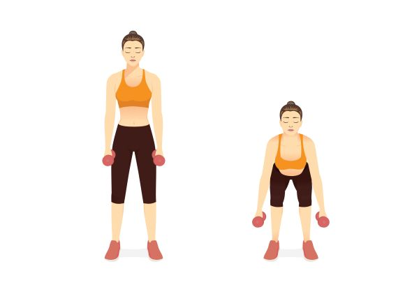 Тренирайте с тежести