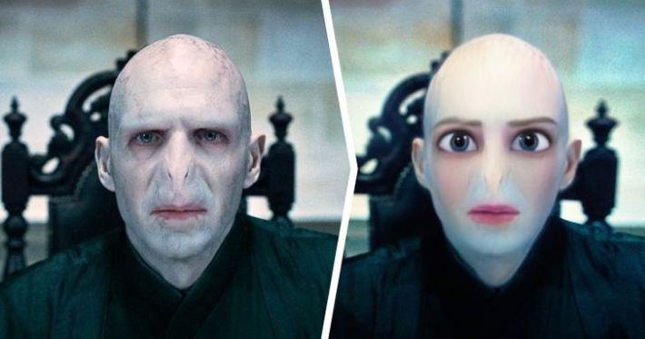 """Лорд Волдемор, """"Хари Потър"""""""