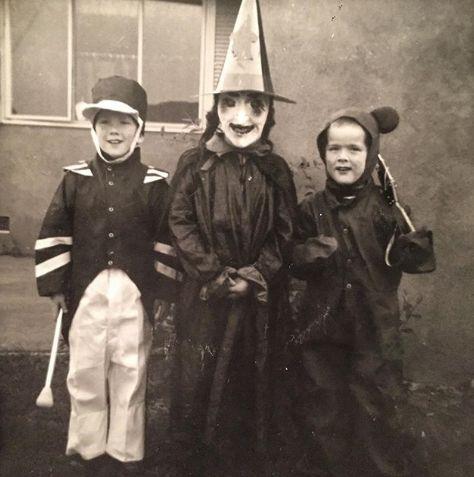 Хелоуин в миналото