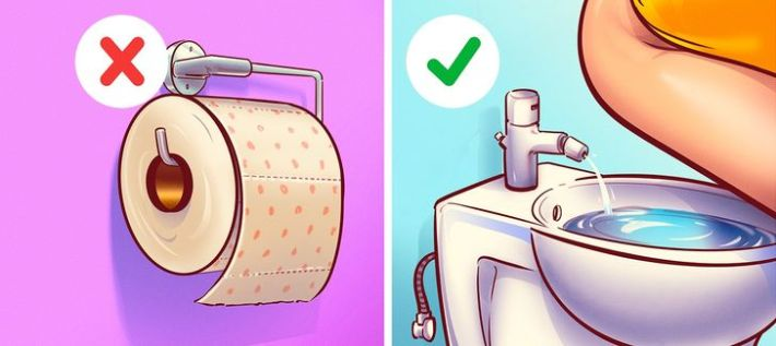 Биде или тоалетна хартия