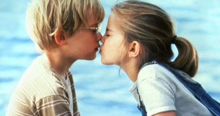 Целувка като на кино
