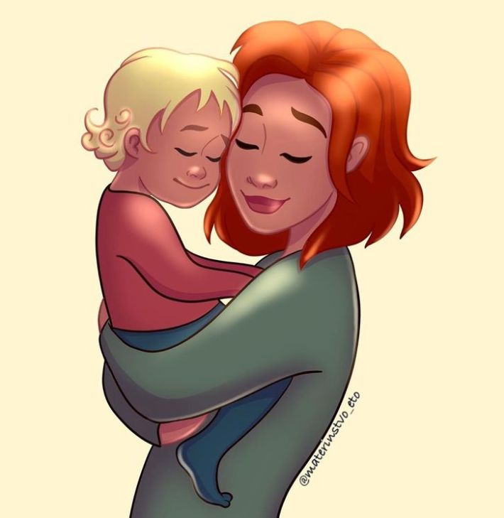 Животът на всяка майка