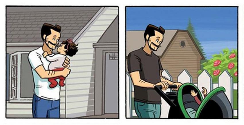 Красивата връзка между баща и дъщеря