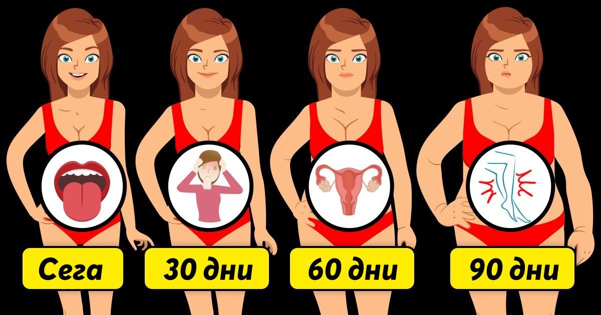 Ето какво се случва с тялото ни, когато качим няколко излишни килограма