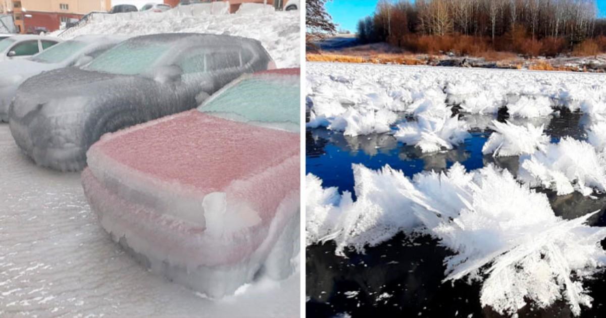 Любопитно от света: Климатични аномалии, които са възможни само в Русия