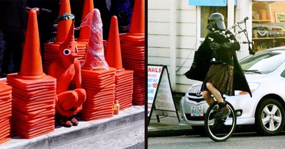 25 странни снимки, които нямат никакво разумно обяснение