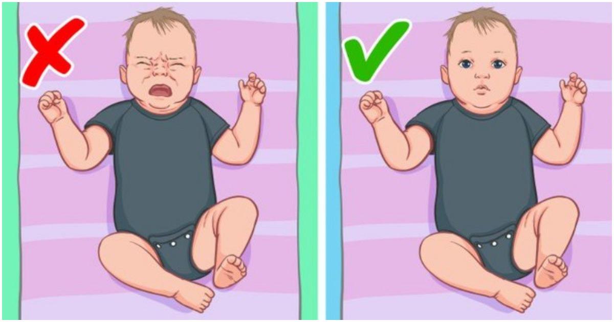 Как да направим правилно масаж на бебе