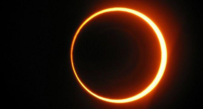Слънчево затъмнение в Дева