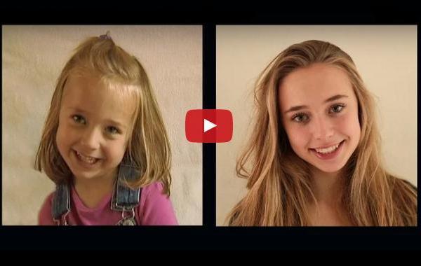 Невероятно видео разкрива колко бързо всъщност растат децата ни