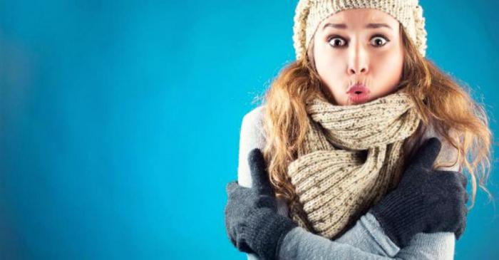 Защо на жените винаги им е студено?