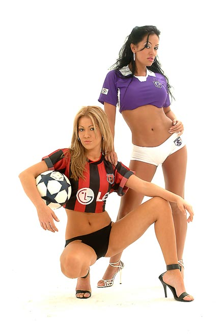 Най-красивите футболни съпруги в света