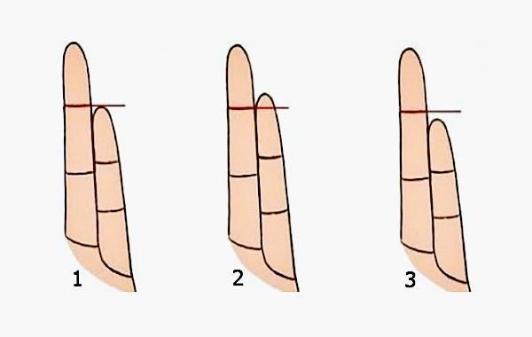 Ето какво разкрива за теб дължината на безименния ти пръст
