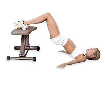 3 упражнения за експресно стягане на дупето